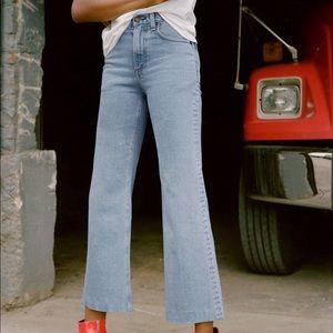 Rag & Bone Wide Leg Justine Trouser Jeans Sz 28